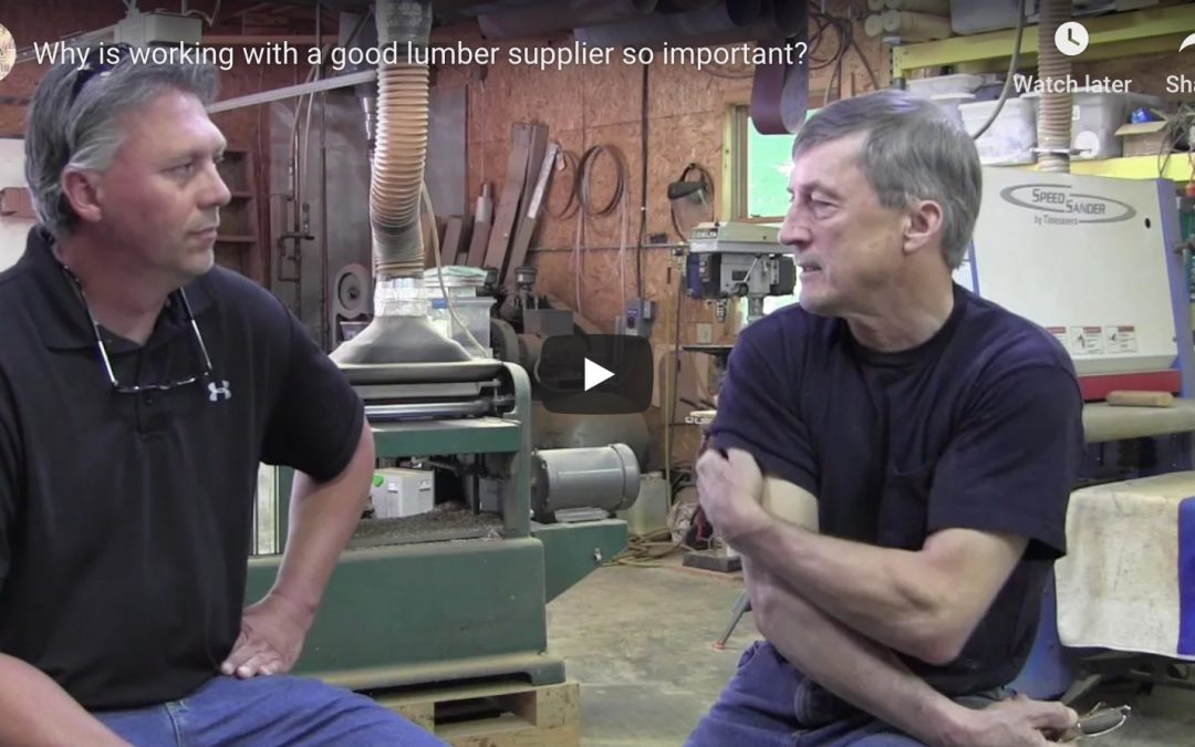 Why is working with a good lumber supplier so important?