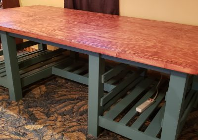 Wife's Quilting Table By Joseph Poposky