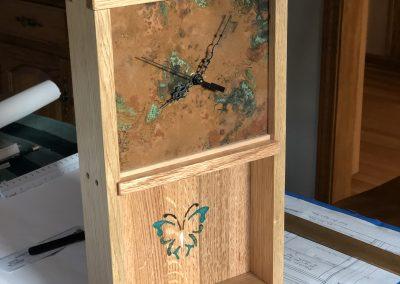 White Oak Clock by Bart Noto