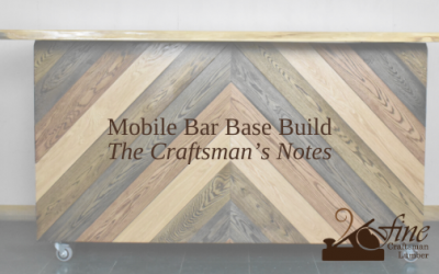 Live Edge Bar Base Build – The Craftsman's Notes