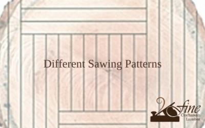 Different Types of Sawing Patterns