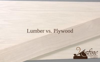 Lumber vs. Plywood